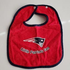 Patriots Baby Bib NWOT